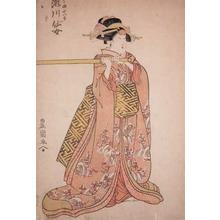 Utagawa Toyokuni I: Kabuki Actor Segawa Senjo - Ronin Gallery