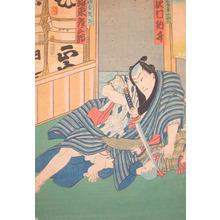 豊原国周: Bando Hikosaburo - Ronin Gallery
