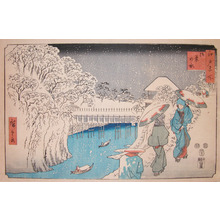 Utagawa Hiroshige: Ochanomizu in Snow - Ronin Gallery