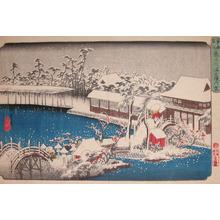 歌川広重: Tenmangu at Kameido - Ronin Gallery