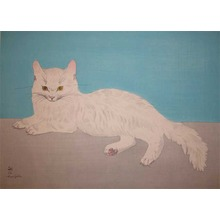 Foujita: Persian Cat - Ronin Gallery