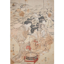 Kitagawa Utamaro: Courtesans and Drums - Ronin Gallery