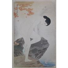 伊東深水: Fragrance of the Hot Spring - Ronin Gallery