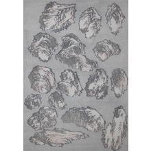 Katsushika Hokusai: Rocks - Ronin Gallery