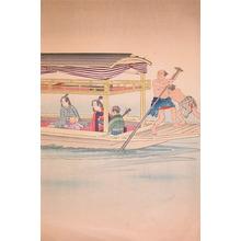 Kobayashi Kiyochika: Boat - Ronin Gallery