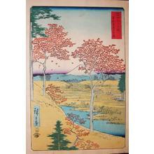歌川広重: Meguro, Edo - Ronin Gallery