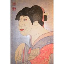 弦屋光渓: Ichikawa Monnosuke as Miuraya Shiratama - Ronin Gallery