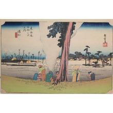 歌川広重: Hamamatsu - Ronin Gallery
