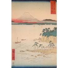 歌川広重: Miura, Sagami - Ronin Gallery