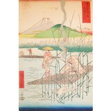Utagawa Hiroshige: Sagami River - Ronin Gallery
