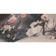 Migita Toshihide: March 10th at Port Arthur - Ronin Gallery