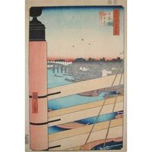 Utagawa Hiroshige: Nihonbashi and Edobashi - Ronin Gallery