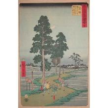 Utagawa Hiroshige: Akasaka - Ronin Gallery