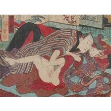 Utagawa Kunisada: Spring Soiree - Ronin Gallery