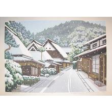 Ido: Winter at Toriimoto - Ronin Gallery