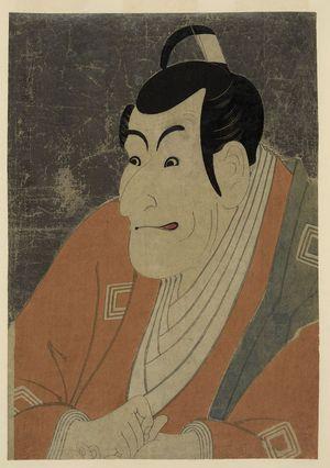 Toshusai Sharaku: Ichikawa Ebizō as Takemura Sadanoshin. - Library of Congress