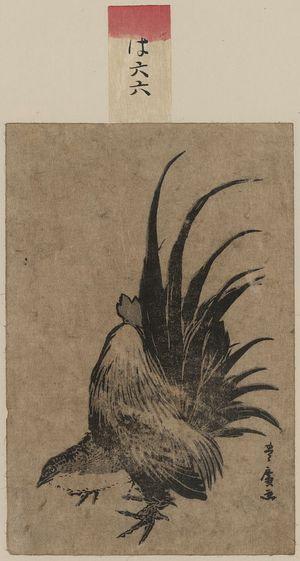 Utagawa Toyohiro: Chicken. - Library of Congress