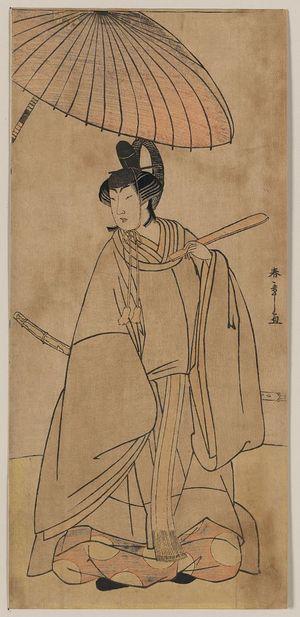 Katsukawa Shunsho: The actor Iwai Hanshirō. - Library of Congress