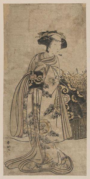 Katsukawa Shunko: The onnagata Onoe Tamizō. - Library of Congress