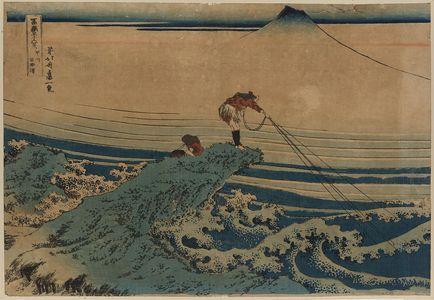 葛飾北斎: Kōshū kajikazawa - アメリカ議会図書館