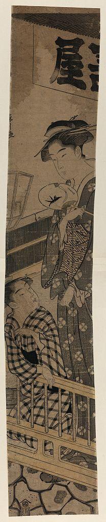 細田栄之: Entertainer from Nakazu. - アメリカ議会図書館