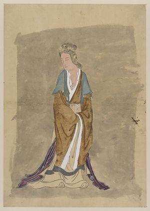 無款: [Portrait of a woman] - アメリカ議会図書館