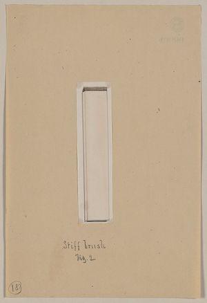 無款: Stiff brush, fig. 2 - アメリカ議会図書館