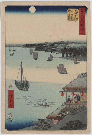 Utagawa Hiroshige: Kanagawa - Library of Congress