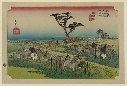 Utagawa Hiroshige: Chiryū - Library of Congress