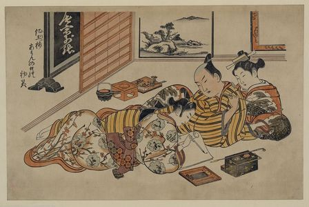 Okumura Masanobu: [A willing letter writer] - Library of Congress