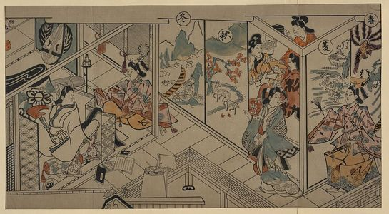 Sugimura Jihei: [A betrothal ceremony] - Library of Congress