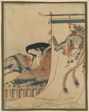 Hosoda Eishi: Noblewoman. - Library of Congress