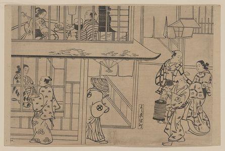 奥村政信: Edochō, Shin-Yoshiwara. - アメリカ議会図書館