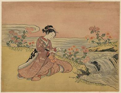 Suzuki Harunobu: Transformation of Kikujirō. - Library of Congress