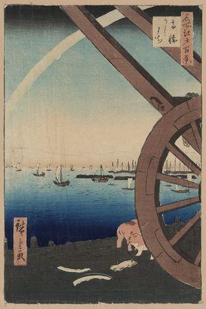 Utagawa Hiroshige: Ushimachi, Takanawa. - Library of Congress