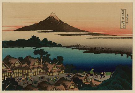 葛飾北斎: [Pictorial envelope for Hokusai's 36 views of Mount Fuji series] - アメリカ議会図書館