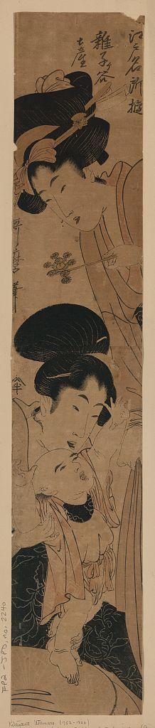 Kitagawa Utamaro: Souvenirs from Zōshigaya. - Library of Congress