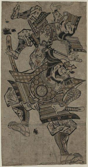 Okumura Masanobu: Benkei; Cry of the crane. - Library of Congress