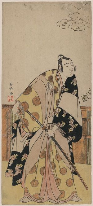 Katsukawa Shunko: The actor Sawamura Sōjurō III. - Library of Congress