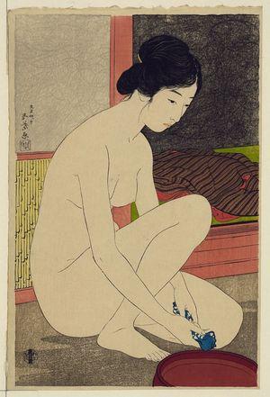 Hashiguchi Goyo: Woman after a bath. - Library of Congress