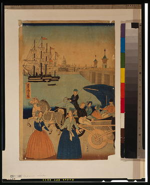 Utagawa Yoshitora: Picture of London, England. - Library of Congress