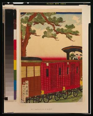 Utagawa Kuniteru: [Steam train] - Library of Congress