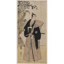 勝川春好: Sawamura Sōjūrō in the role of Honda. - アメリカ議会図書館