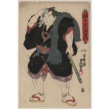 Utagawa Toyokuni I: The sumo wrestler Somagahama Fuchiemon. - Library of Congress