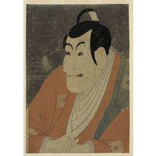 東洲斎写楽: Ichikawa Ebizō as Takemura Sadanoshin. - アメリカ議会図書館