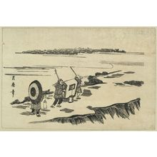 Kitagawa Tsukimaro: Nihon embankment. - Library of Congress