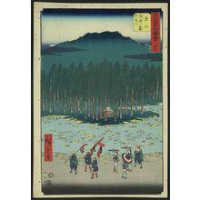 歌川広重: Tsuchiyama - アメリカ議会図書館