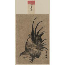 歌川豊広: Chicken. - アメリカ議会図書館