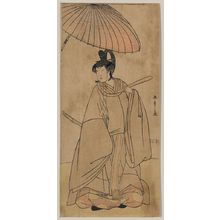 Katsukawa Shunsho: The actor Iwai Hanshirō. - Library of Congress