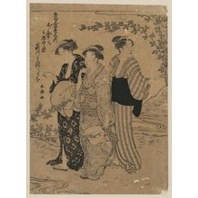 Katsukawa Shuncho: Bushclover. - Library of Congress